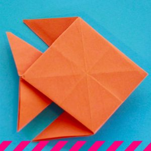 ¿Cómo hacer un pez de origami?