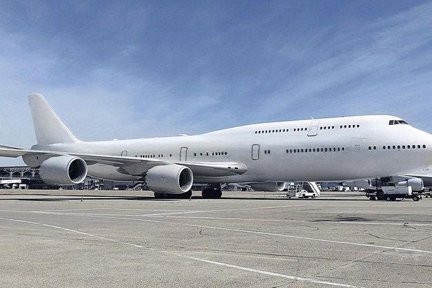Avión Boeing 747-8 VIP