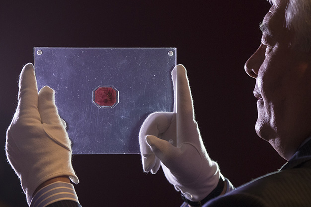 Magenta de un penique de Guayana Británica - Estampilla más cara del mundo