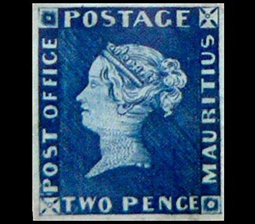 Mauricio Azul - Estampilla