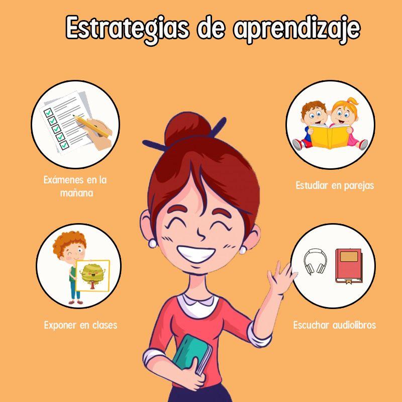 Ejemplos de estrategias de aprendizaje para niños de preescolar